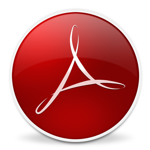 Adobe Reader Icon Free Download as PNG and ICO, Icon Easy