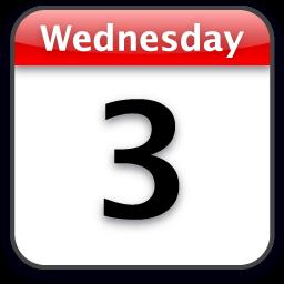 Image Gallery iphone calendar icon