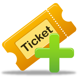 Create ticket Icon Free Download as PNG and ICO, Icon Easy
