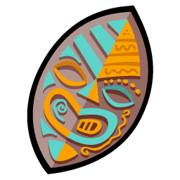 Tiki Shield Icon Free Download As Png And Ico Icon Easy