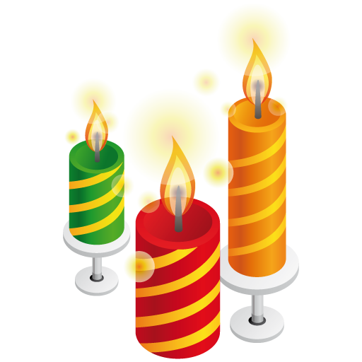 Birthday Candles Png P...