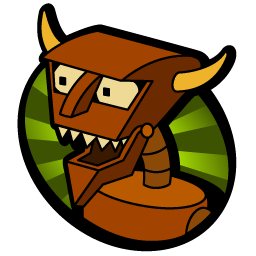 Robot Devil Icon Free Download as PNG and ICO, Icon Easy