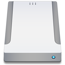 External Drive Icon Free Download As Png And Ico Icon Easy