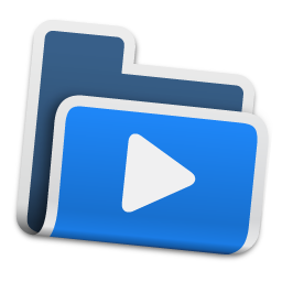 Movie Folder Icon Free Download As Png And Ico Icon Easy