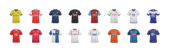 Premier League Clothes Premier League 2010 Icons Set