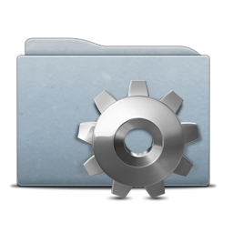 Folder Graphite Gear Icon Free Download As Png And Ico Icon Easy