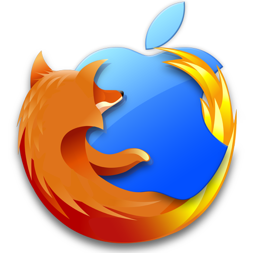 Firefox Mac Icon Free Download as PNG and ICO, Icon Easy