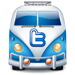 Twitter Bus Icon Free Download As Png And Ico Icon Easy