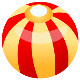 Beach Ball Icon Free Download As Png And Ico Icon Easy