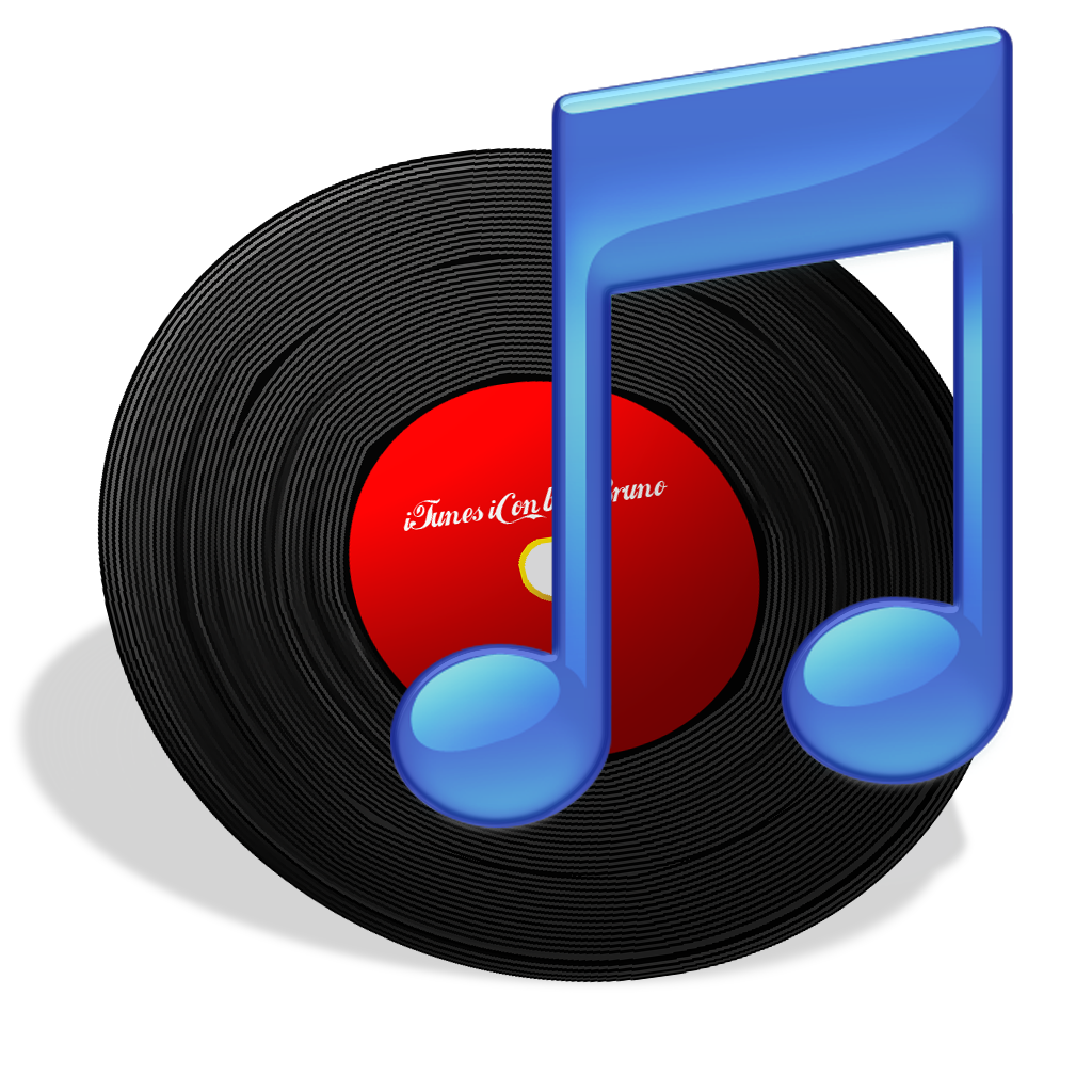 iTunes Vinyl Icon Free Download as PNG and ICO, Icon Easy