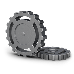 Gear Wheel Icon Free Download As Png And Ico Icon Easy