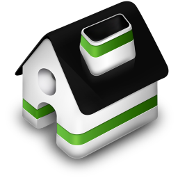 Home Green Icon Free Download As Png And Ico Icon Easy